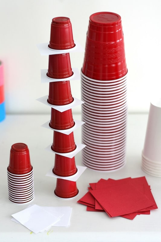 Stacking cups and other Dr Seuss games