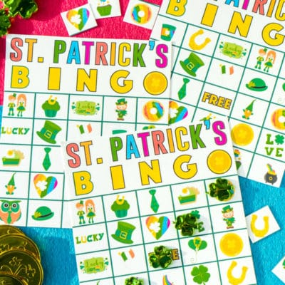 Free Printable St. Patrick's Day Bingo Cards