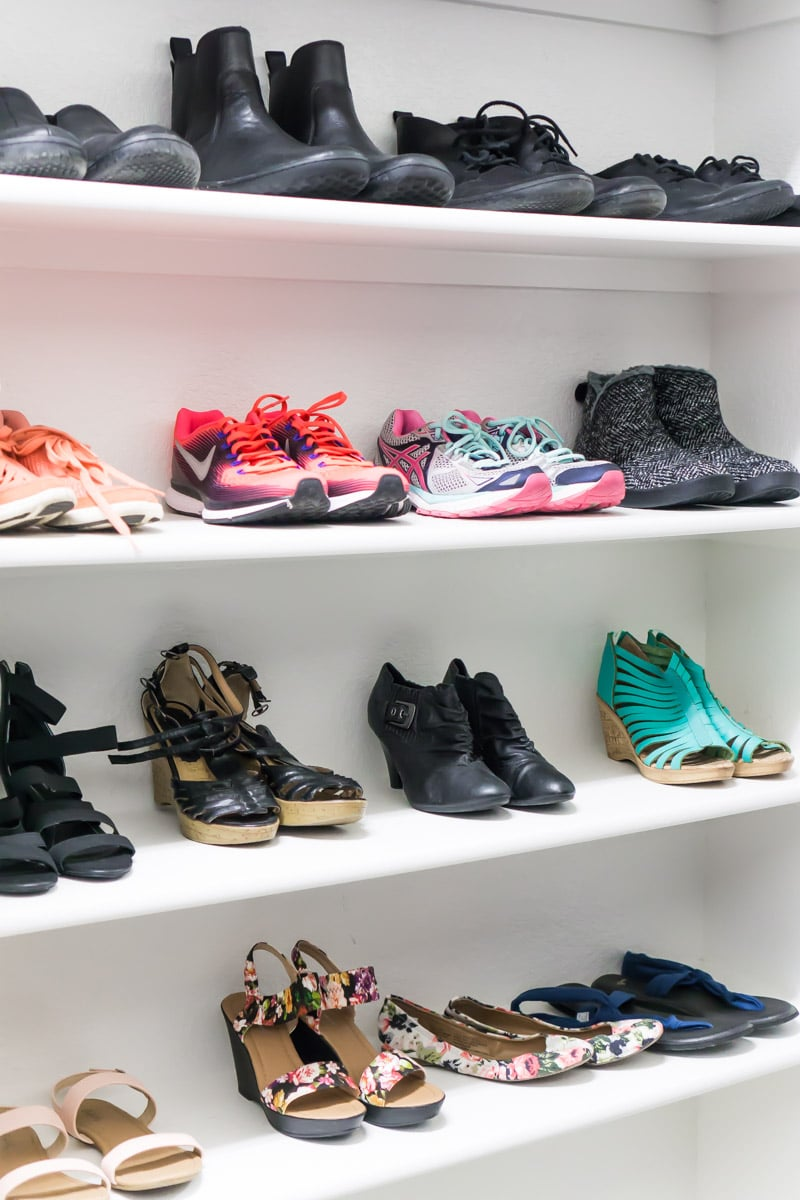 Space your shoes out and other great tips for showing your home
