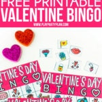 These Valentine's Day bingo cards are perfect for kids, for adults, for couples, for seniors, or for school parties! Simply download, print, and play a game everyone will love!