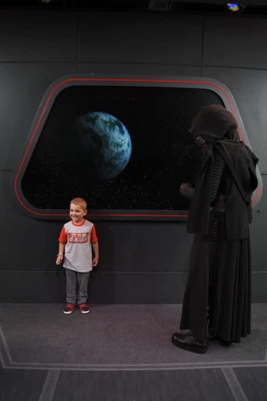 Kylo Ren greeting at Disney After Hours