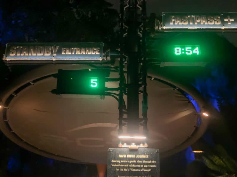 Five minute wait time during Disney After Hours
