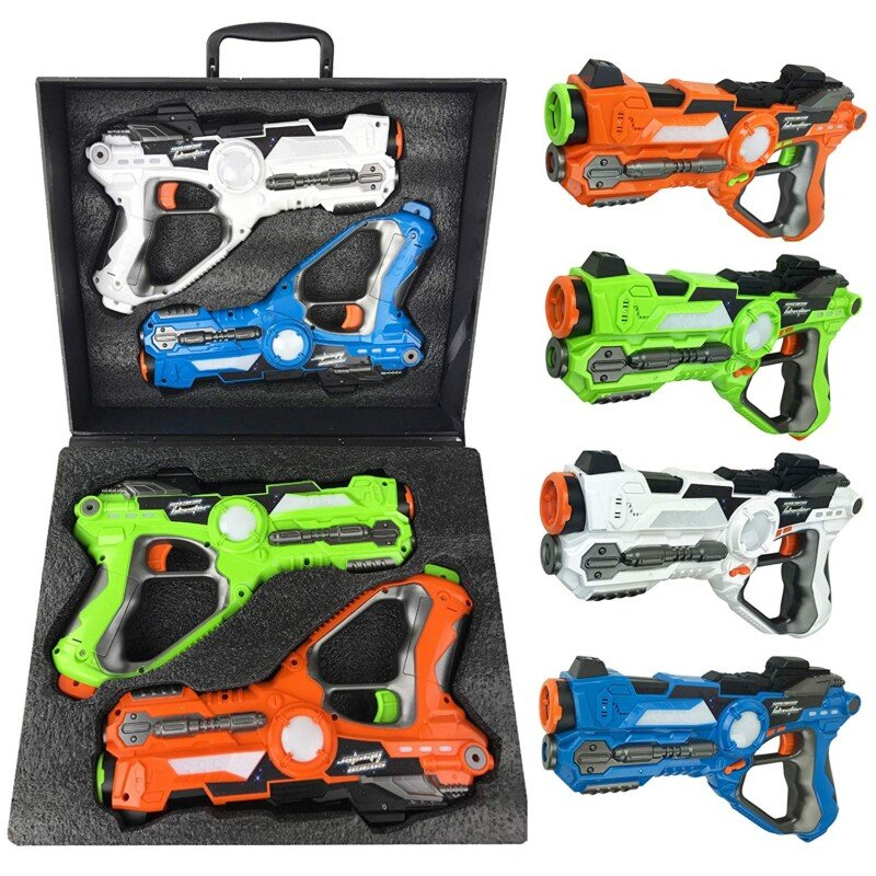 Laser tag sets make great gifts for 10 year old boys