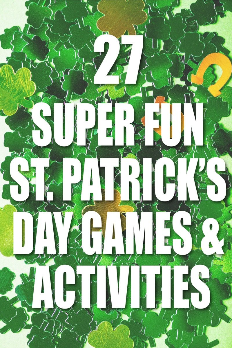photo relating to St Patrick Day Trivia Questions and Answers Printable named 27 of the Least difficult St. Patricks Working day Pursuits Online games - Participate in