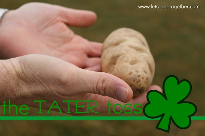 Tater toss is one of the best St. Patrick's Day activities