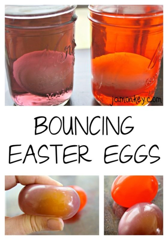 Science experiments and other Easter activities