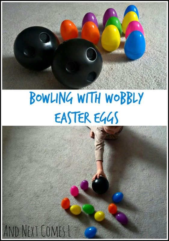 egg bowling and other Easter activities