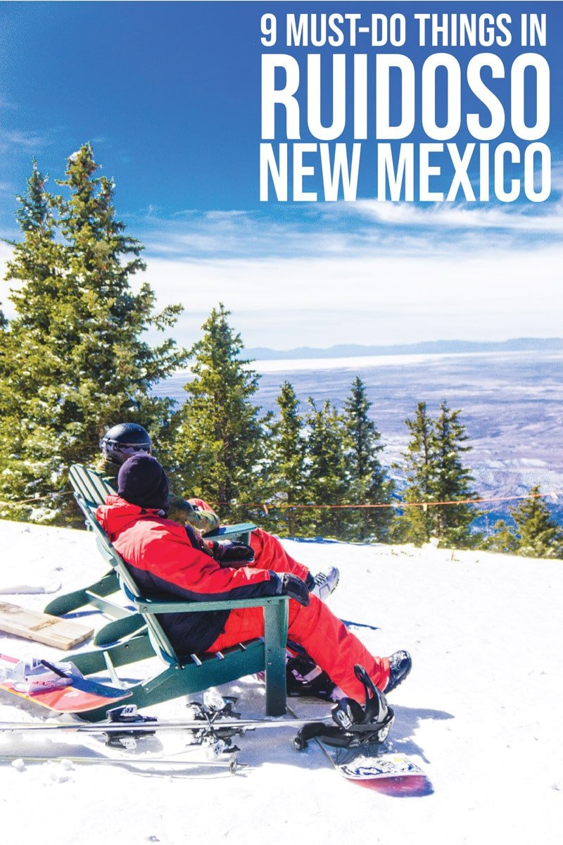 The ultimate guides to things to do in Ruidoso New Mexico during the winter! Everything from the best restaurants to cabins to stay in and fun activities and day trips for families! Find out why Ruidoso should be on your travel bucket list!