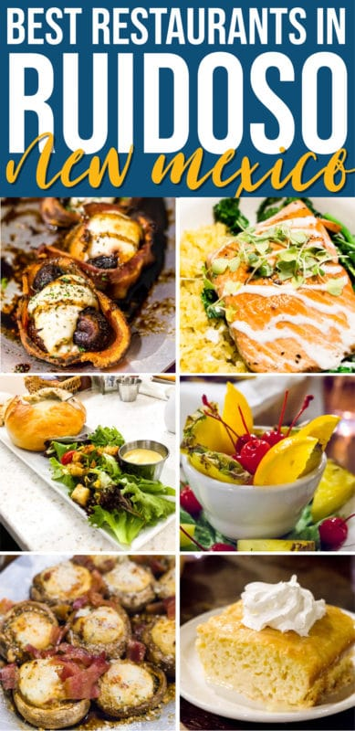 Don't miss these Ruidoso restaurants! With everything from farm to table dining to classic comfort food, these are the best restaurants in Ruidoso.