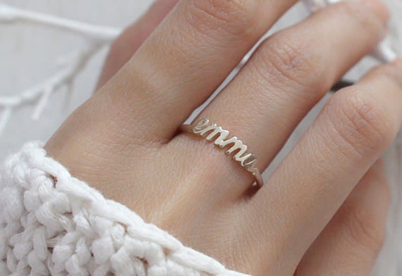 Cheap bridesmaid gifts in the shape of a ring
