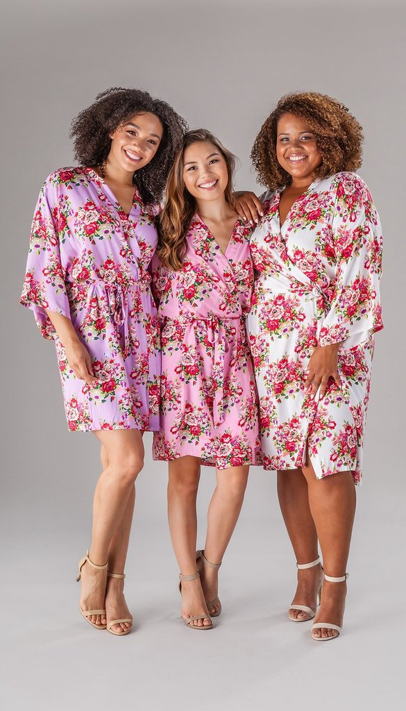 DIY bridesmaid robes