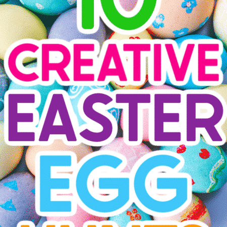 Forget the standard candy in an Easter egg hunt this year! Thrill and surprise your kids with these unique Easter egg hunt ideas instead. There's even a bunch of great Easter egg hunt ideas for adults too!