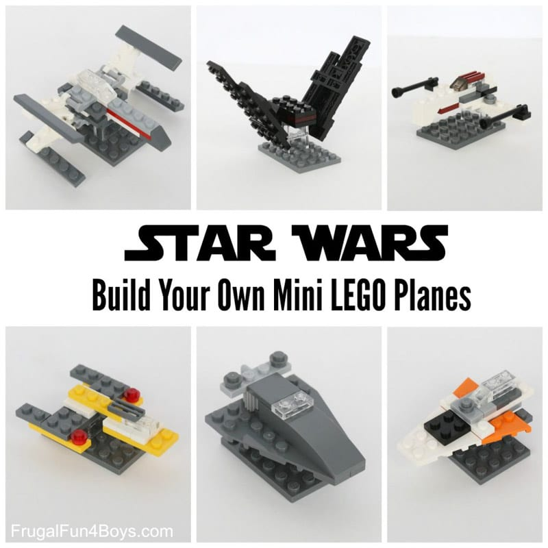 Tutorial to make your own jet fighters for Star Wars Day
