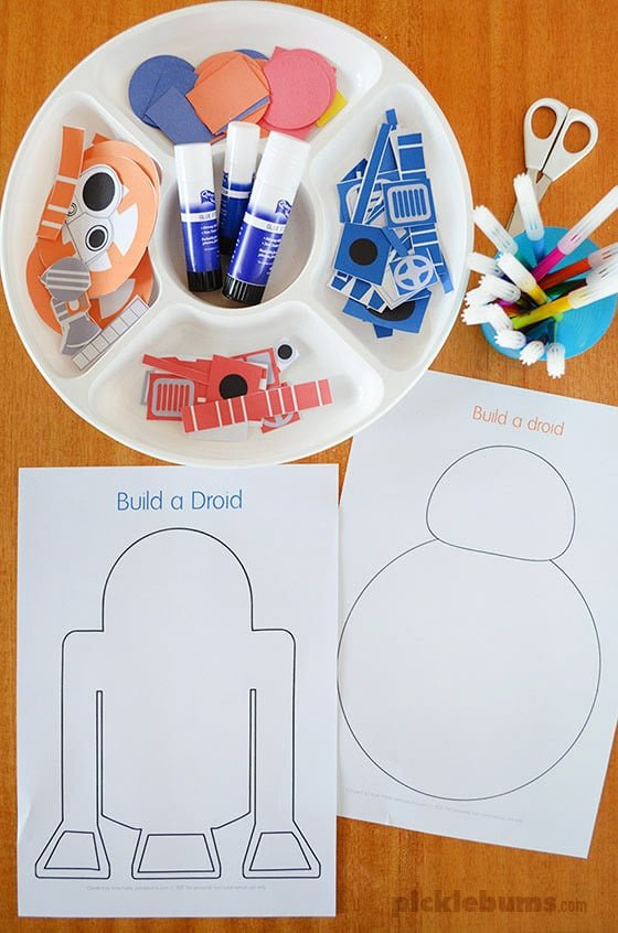 May the fourth be with you droid making activity