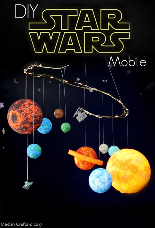 Star Wars Day mobile craft