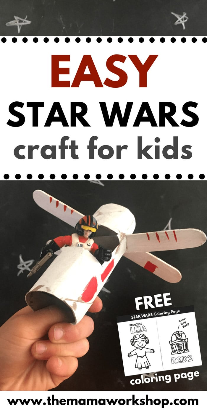 Star Wars Day x-wing craft