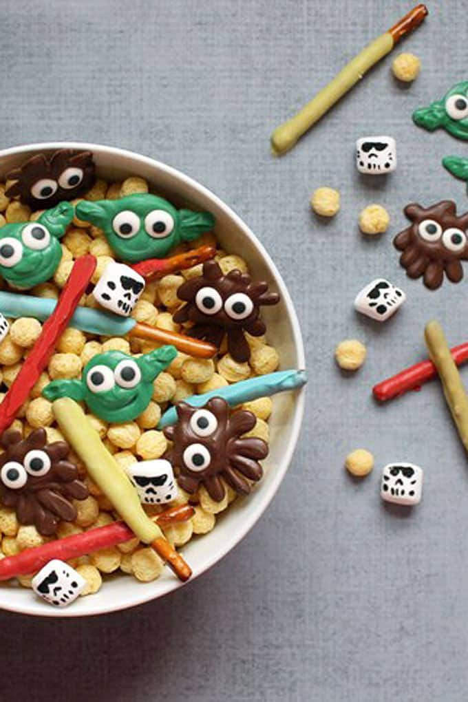 Star Wars Day snack mix