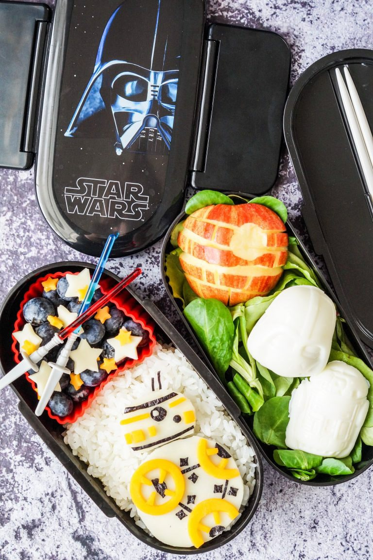 Bento box for Star Wars Day