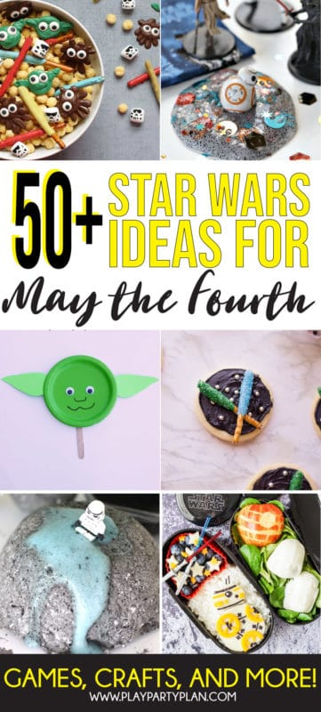 The best Star Wars Day ideas with everything from party ideas to crafts and more! Tons of great ways to celebrate May the Fourth!
