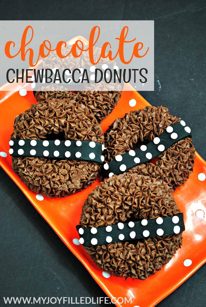 Chewbacca donuts to say may the fourth be with you