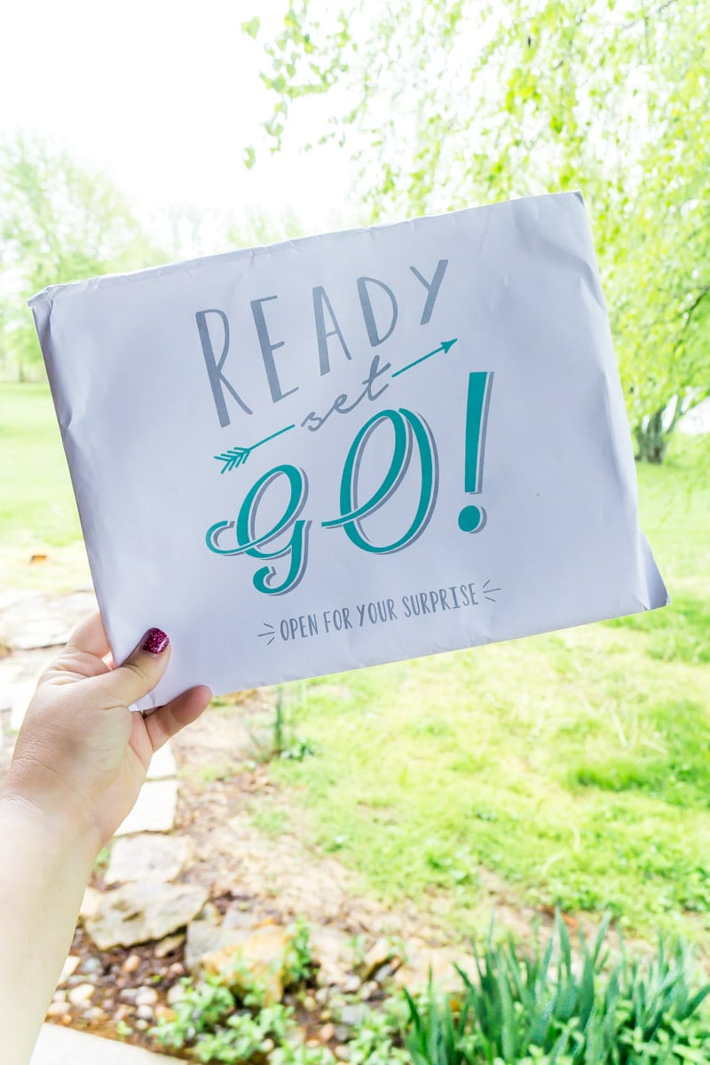 Envelope from Pack Up and Go
