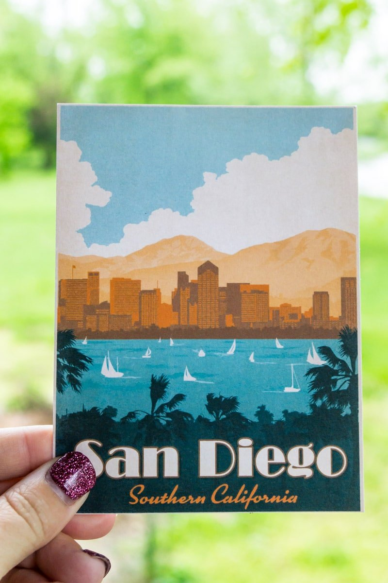 A destination card from Pack Up and Go