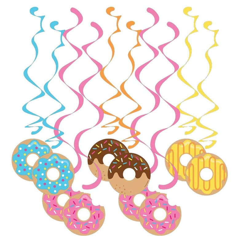Donut party danglers