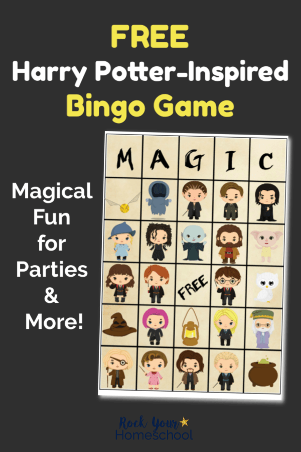Bingo and other Harry Potter games