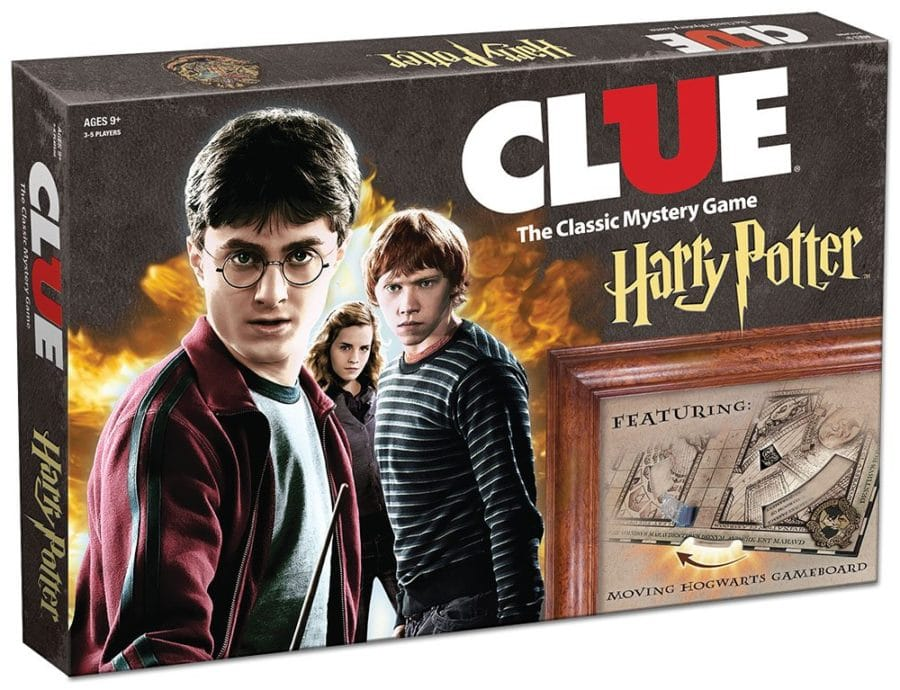 Harry Potter board game Clue