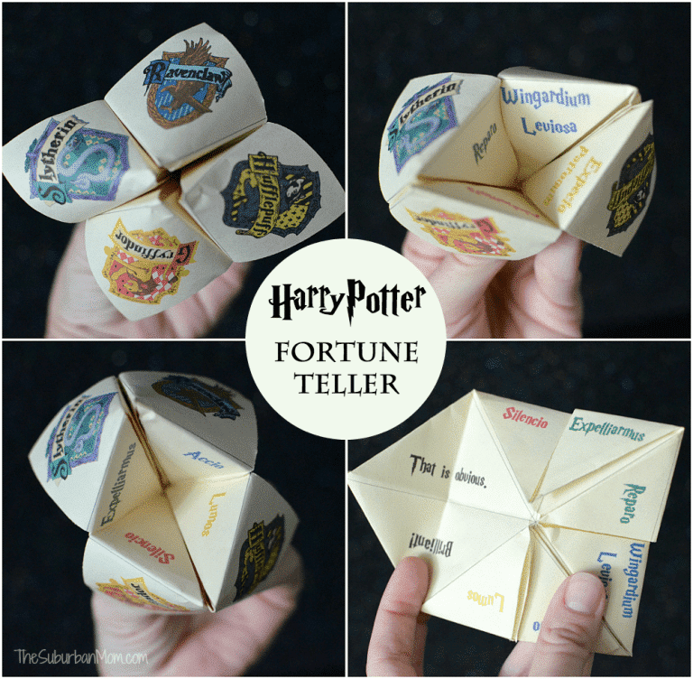 Printable Harry Potter games for kids