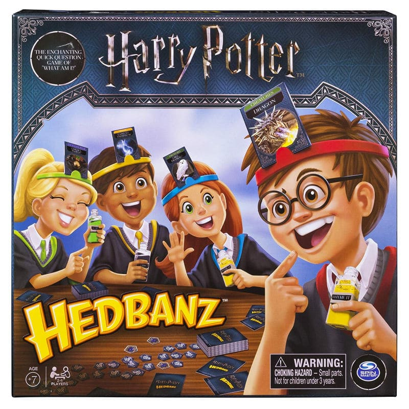Harry Potter board game of classic Hedbanz game