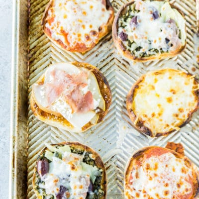 Easy English Muffin Pizza Recipe