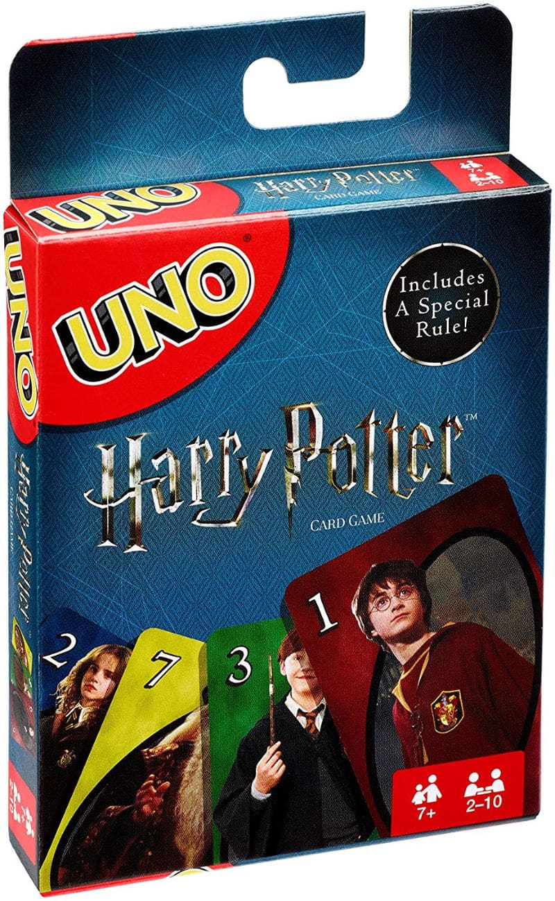 Harry Potter board game of classic Uno