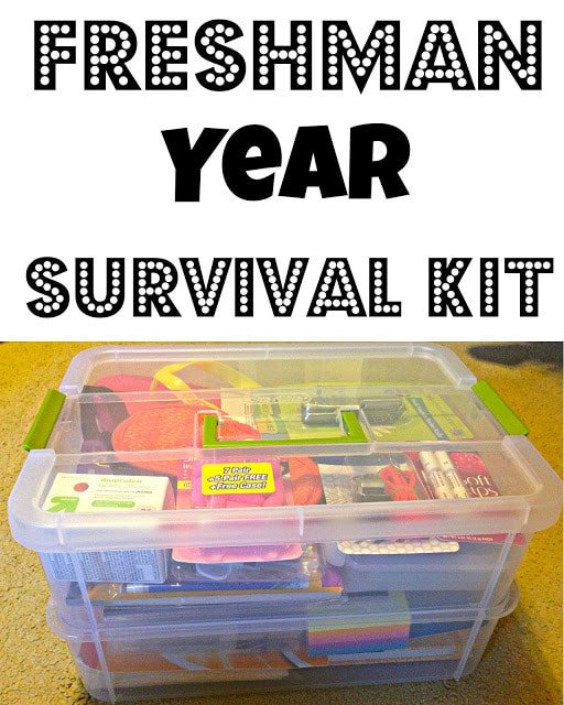 Freshman year survival kit and other good graduation gifts