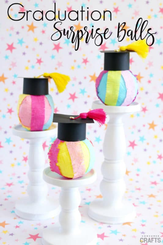 Cute DIY graduation gifts with surprises inside