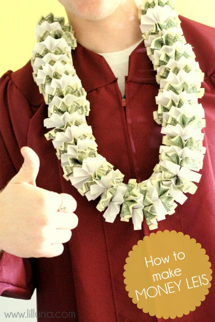 Money leis make great graduation gifts