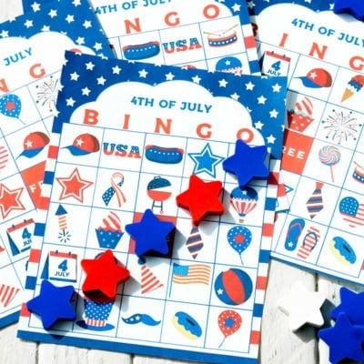 Free Printable 4th of July Bingo