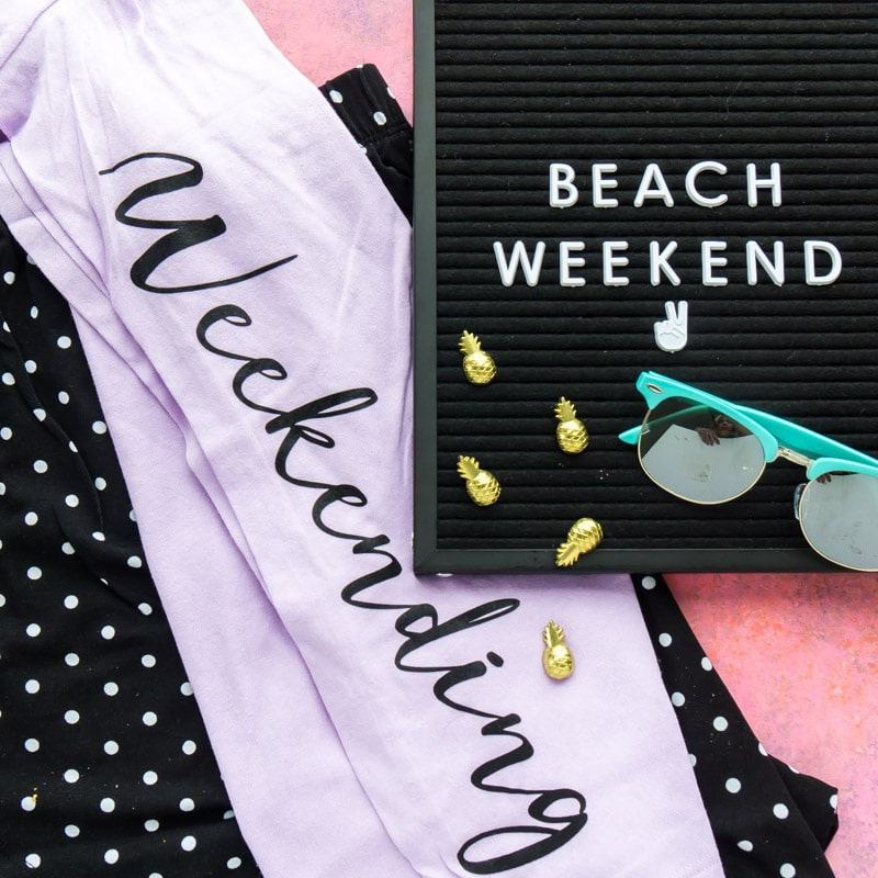 Weekending PJs for a beach weekend