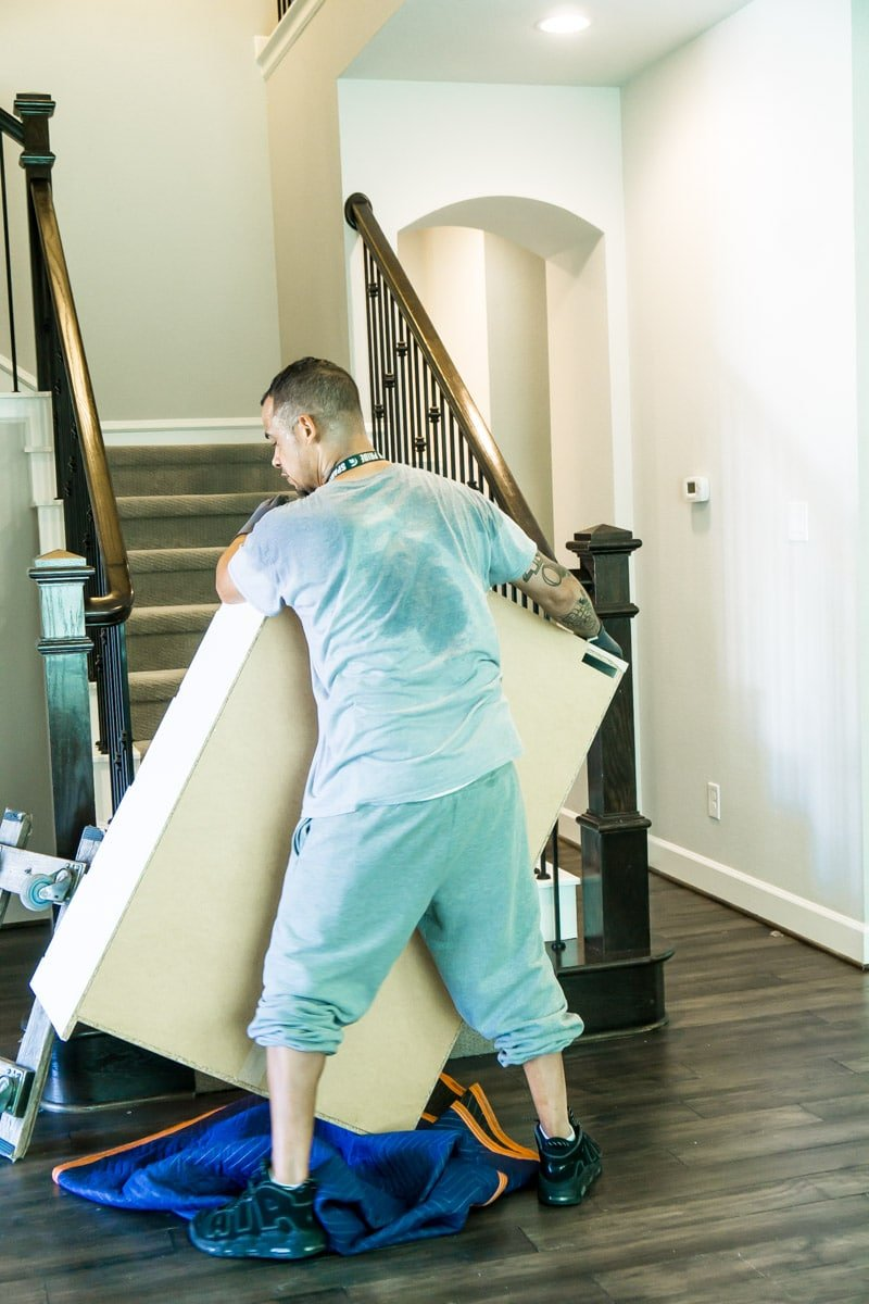 Hire a Helper team on moving day