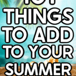 Summer photo with text for Pinterest