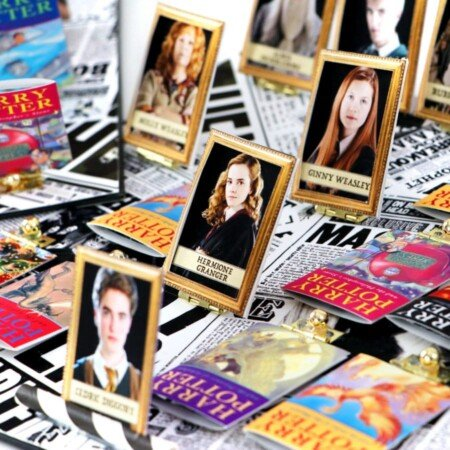 DIY Harry Potter board game inspired by Guess Who