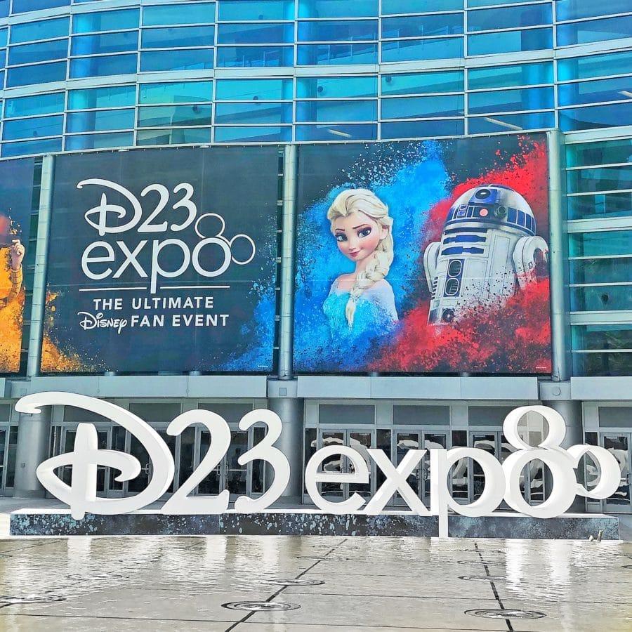 Disney D23 Expo Sign
