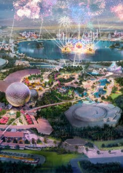 Rendering of the new Epcot.