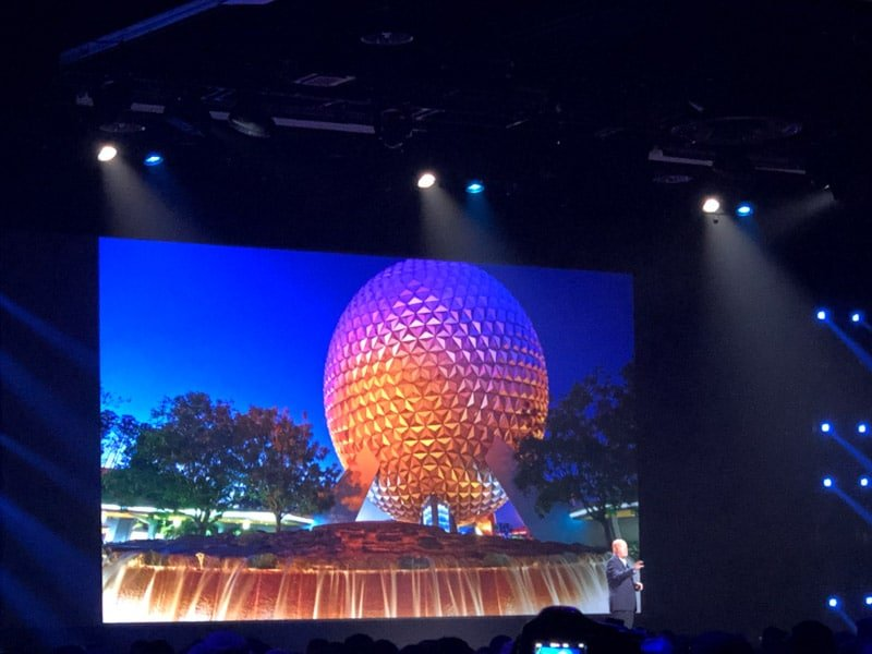 Spaceship Earth updates at Epcot
