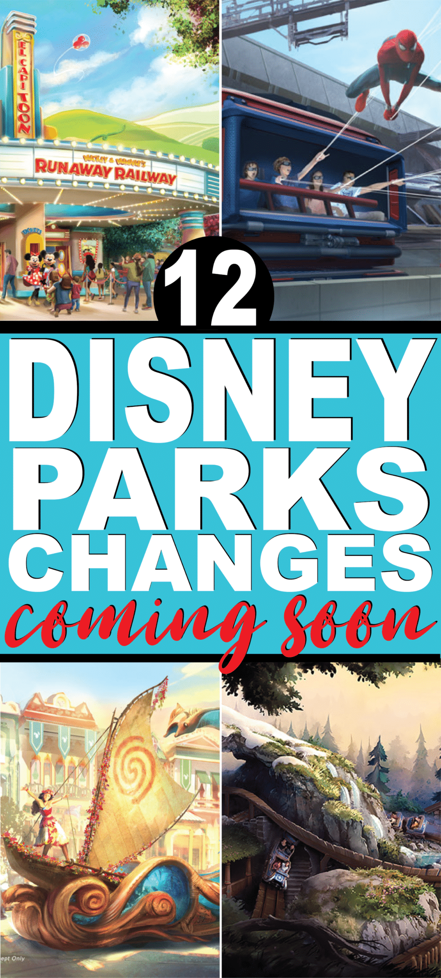 All of the changes coming to Disney parks in the next few years! Everything from Star Wars to Avengers, Mary Poppins, and more!