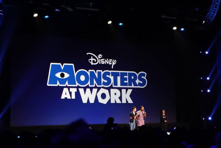 Monster show on Disney Plus
