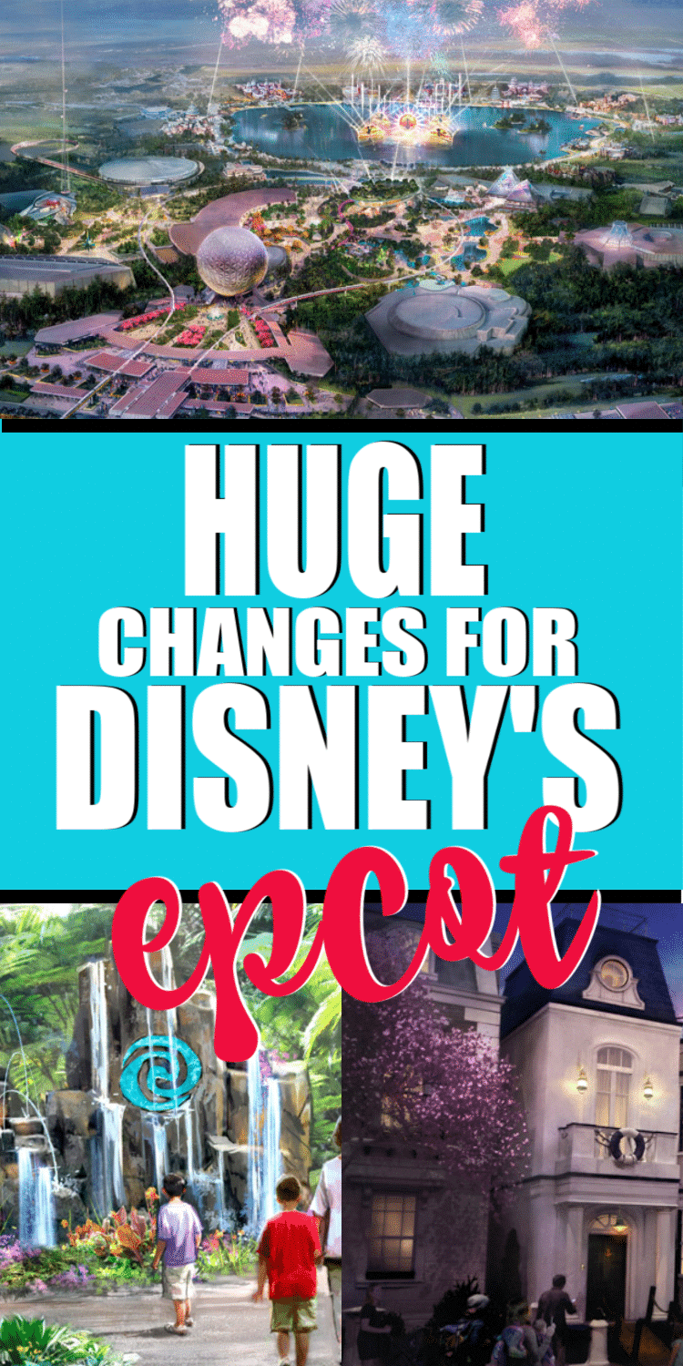 Everything you need to know about changes coming to Epcot in the next 10 years.