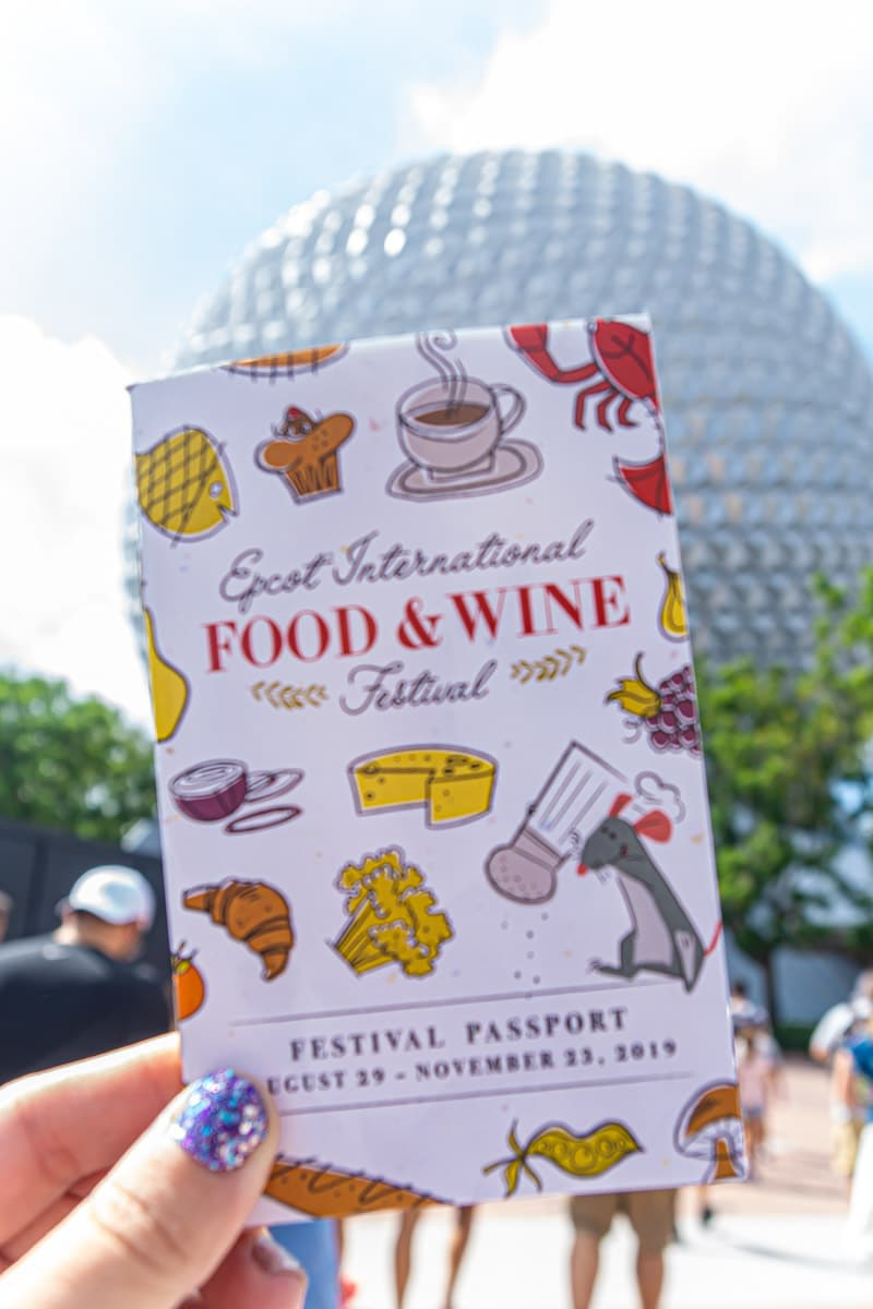 Epcot Food and Wine Festival 2019 Festival Passport