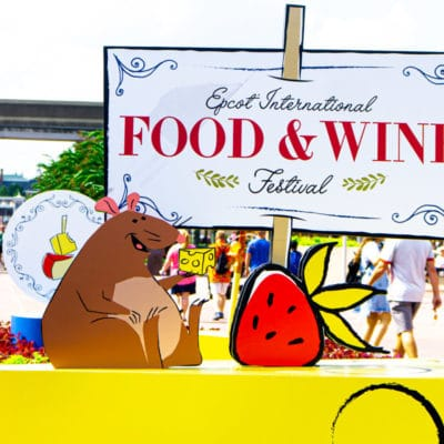Tips for Visiting the 2019 Epcot Food & Wine Festival