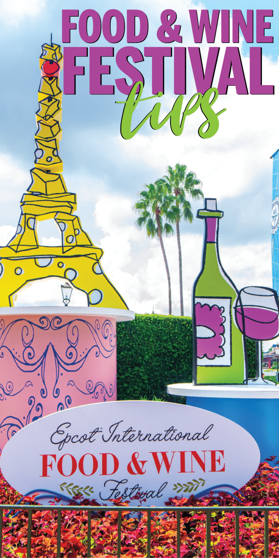 The ultimate guide to the Epcot food and wine 2019 festival! Full menu, concert lineup, tips and tricks, and more! Everything you need to check out the Disney food and wine festival this year!